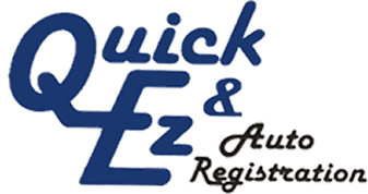 Logo, Quick & Ez Auto Registration
